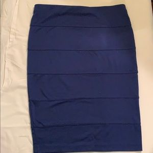Forever 21 blue mini skirt size S